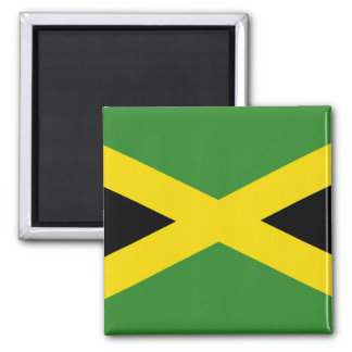 Magnet with Flag of Jamaica