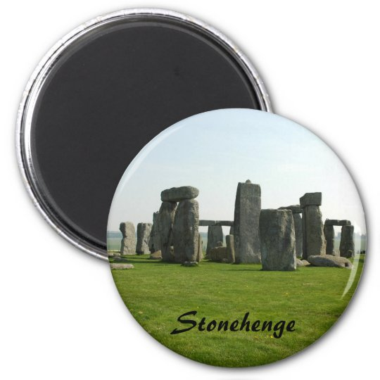Magnet with Stonehenge photo