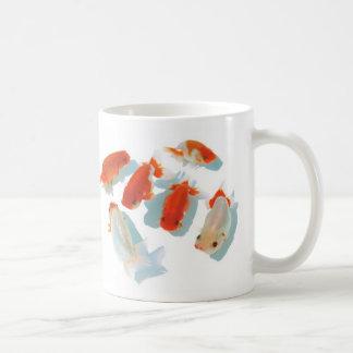Magnetic cup of viewing chi yu u basic white mug