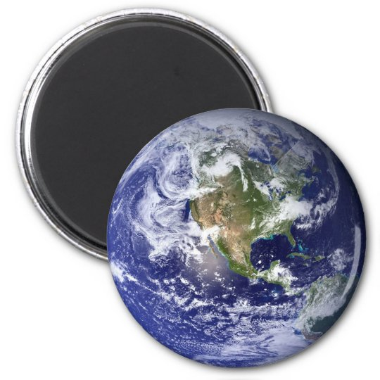 Magnetic Earth 6 Cm Round Magnet