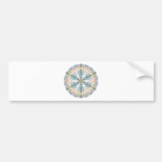 Magnetic Energy Mandala Bumper Sticker