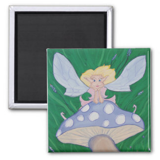Magnetic Faery Square Magnet