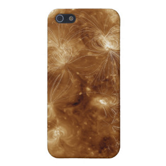 Magnetic field lines on the Sun 2 iPhone 5 Cover