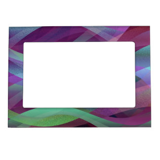 Magnetic Frame Abstract Background
