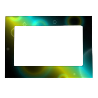 Magnetic Frame Bubbles Abstract Background