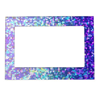 Magnetic Frame Glitter Graphic Background