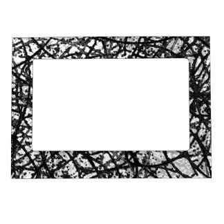 Magnetic Frame Grunge Art Abstract