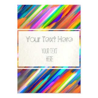 Magnetic Invitation Colorful digital art G391 Magnetic Invitations