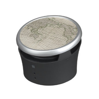Magnetic Map of the World Bluetooth Speaker