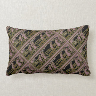 """Magnetic North"" Lumbar Pillow"