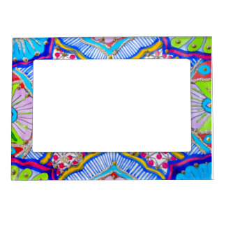Magnetic photo frame - abstract pattern