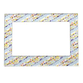 Magnetic Picture Frame Custom Multi blue