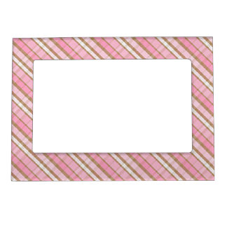 Magnetic Picture Frame/Plaid Photo Frame Magnet