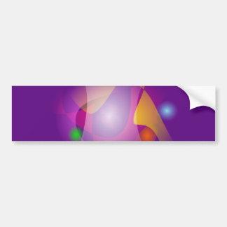 Magnetism Bumper Sticker