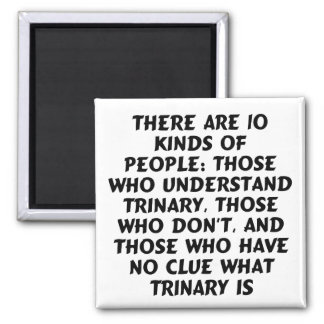 Magnets 4) There are 10 kinds...trinary (square)