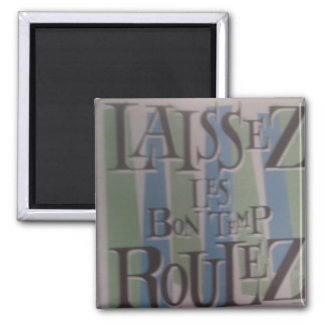 (Magnets, fossil desing) Square Magnet