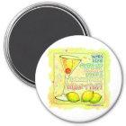 Magnets - Lemon Drop Martini