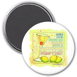 Magnets - Lemon Drop Martini