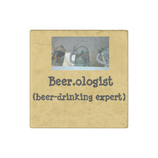 Magnets with Beer-drinking Humor Stone Magnet