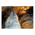 Magnificence Mighty Stalagmite Columns Business Card