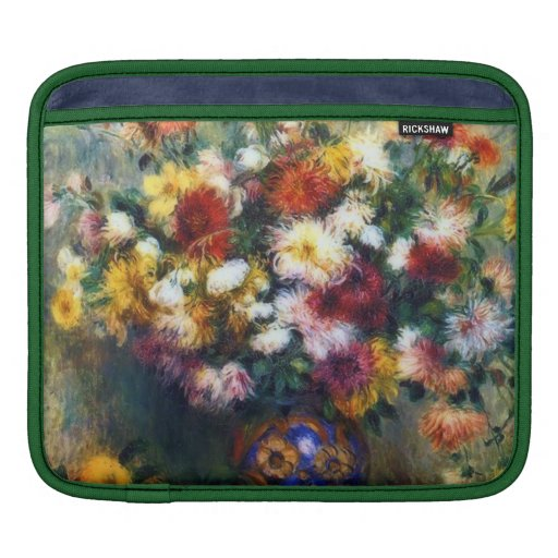 Magnificent Chrysanthemum Flowers Fine Art Sleeves For iPads