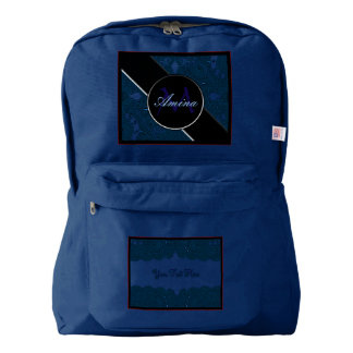 Magnificent Mehndi Mandalas (Blue) Backpack