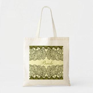 Magnificent Mehndi Mandalas (Gold Effect) Wedding Bags