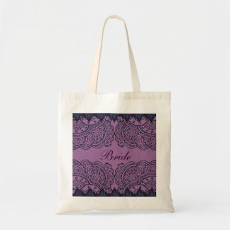 Magnificent Mehndi Mandalas (Purple) (Wedding) Bag