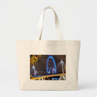 Magnificent! Millennium Wheel London Canvas Bags