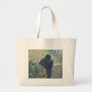 Magnificent Mountain Gorilla Large Tote Bag