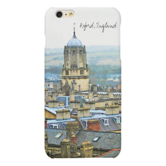 Magnificent Oxford, England, Roof Top View iPhone 6 Plus Case
