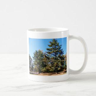 Magnificent Pine Basic White Mug