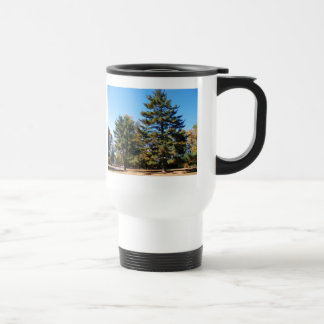 Magnificent Pine Stainless Steel Travel Mug