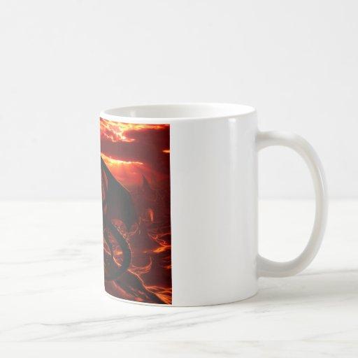 Magnificent Red Dragon Mug