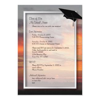 Magnificent Sunrise Class Reunion Invitation