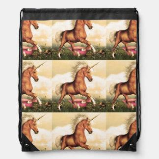 Magnificent Unicorn Drawstring Bag
