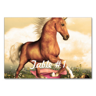 Magnificent Unicorn Table Cards
