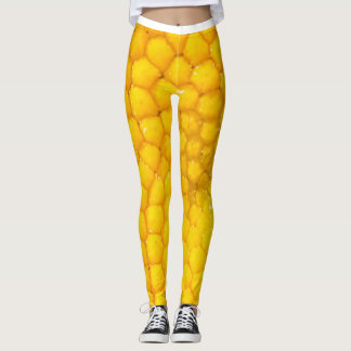 Magnified Daisy Leggings