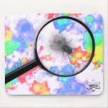 Magnified Fluro Fly Mousemats