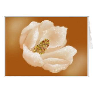 MAGNOLIA  AGLOW CARD