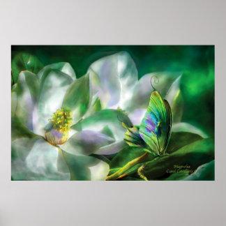 Magnolia Art Poster/Print
