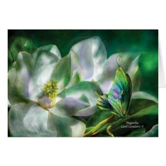 Magnolia ArtCard Greeting Card