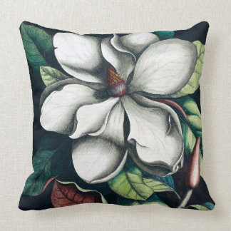Magnolia black cushion