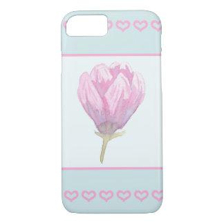 Magnolia Bloom in Watercolour iPhone 7 Case