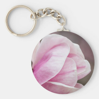 magnolia blooming  on tree key ring