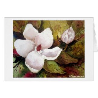 Magnolia & Blossom Card