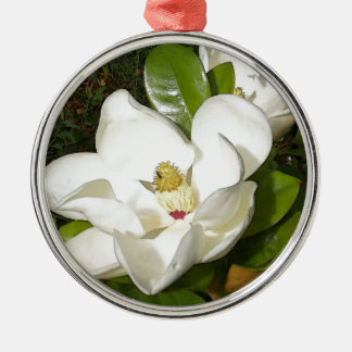 Magnolia Blossom Christmas Ornament