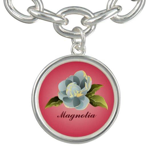 Magnolia Blossom on Pink
