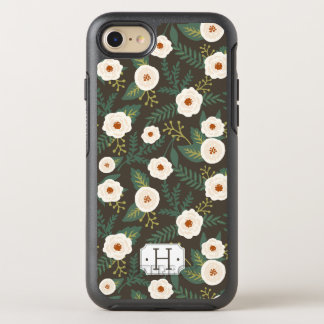 Magnolia Blossoms Monogram OtterBox Symmetry iPhone 8/7 Case