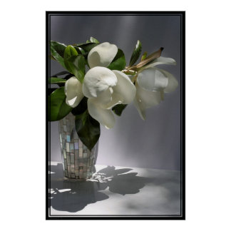 Magnolia Bouquet Poster -40x60 -other sizes also